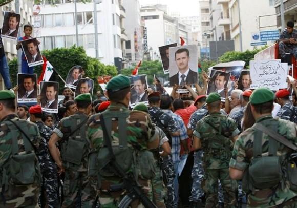 Exército quer conter revoltas em cidade síria