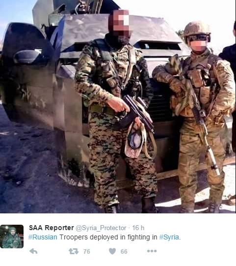 tropas russas na siria