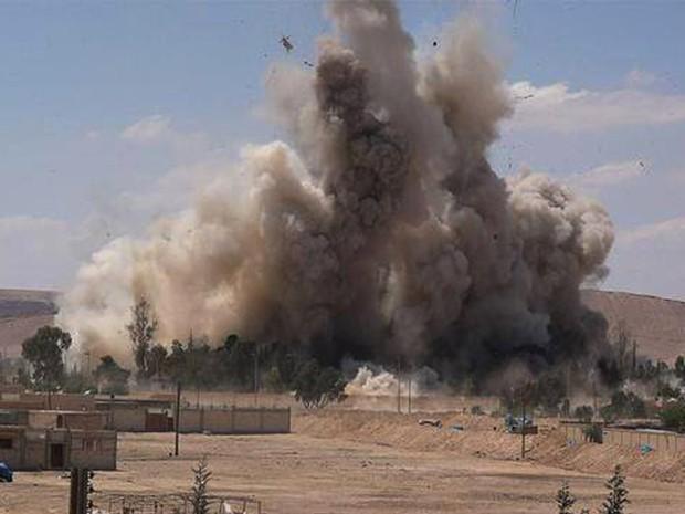 plamira - siria - foto AP