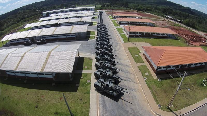 Foto: Relações Públicas do 5º RCC