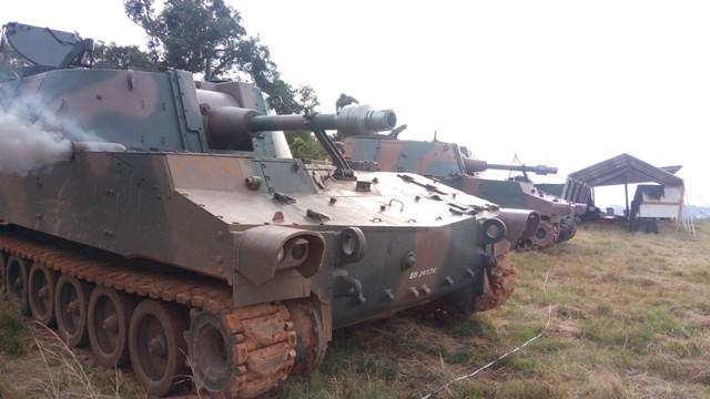 456c155088 Resende (RJ) – No mês de maio, o Curso de Artilharia da Academia Militar  das Agulhas Negras (AMAN) realizou a Escola de Fogo 21, de Regulação  Percutente e ...