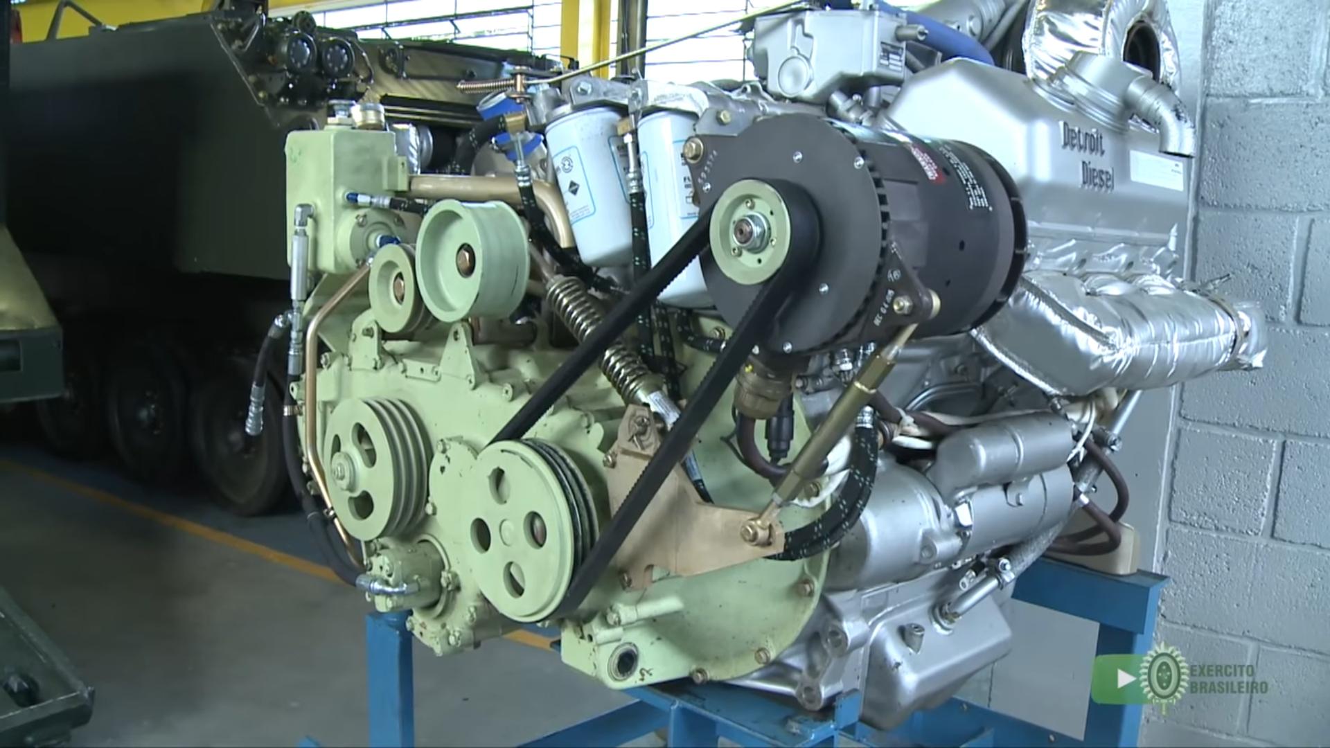 motor do M-113 do EB