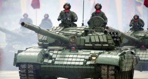 Tanque T-72B da Venezuela