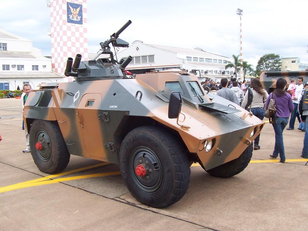 Jararaca na Academia da Força Aérea (AFA), em 2008 - Foto: Nunão