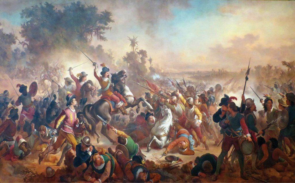 Batalha dos Guararapes (óleo sobre tela de Victor Meirelles)