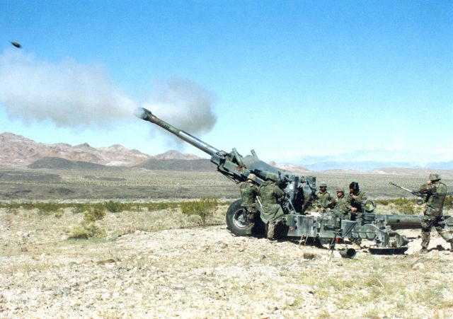 M198 de 155 mm