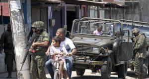 Fuzileiros Navais atuam na Intervenção Federal no Rio de Janeiro