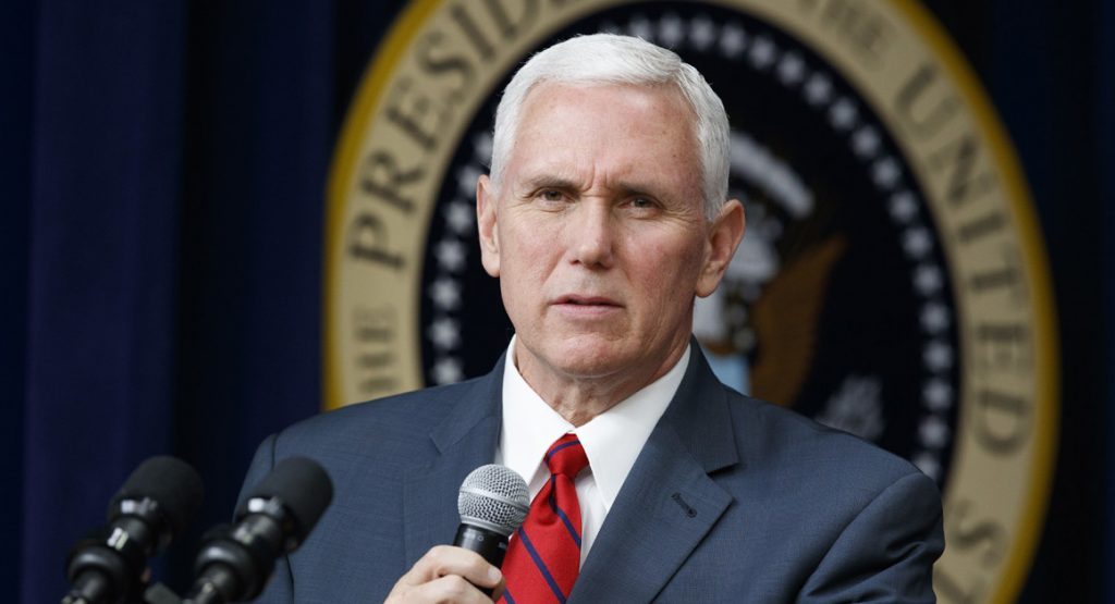 Vice-presidente dos Estados Unidos, Mike Pence