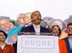 Ivan Duque: presidente eleito da Colômbia deve brigar por mudanças nos acordos de paz com guerrilhas e lidar com a economia de maneira ortodoxa (Nacho Doce/Reuters)
