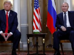 Trump e Putin em Helsinki