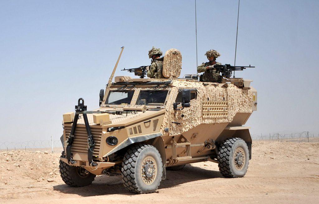 Foxhound no Afeganistão