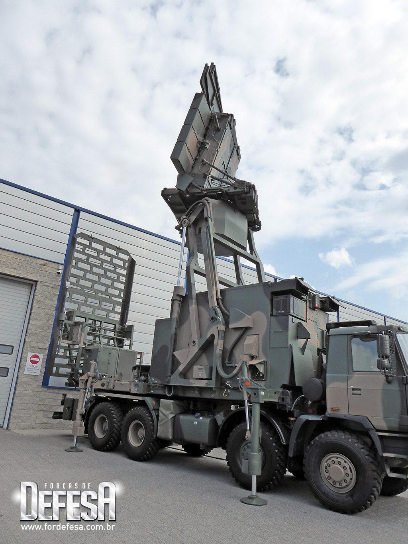 Radar de vigilância e defesa aérea NUR-15M