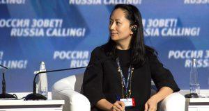 Meng Wanzhou, diretora financeira da empresa chinesa Huawei Technologies