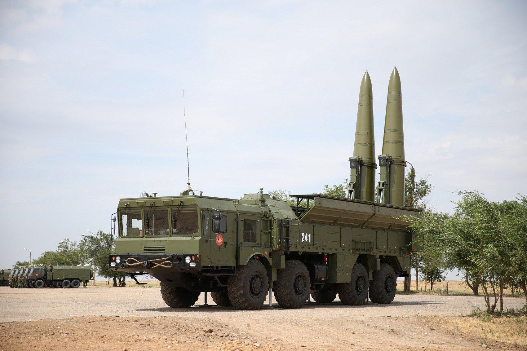 O Iskander pode ser equipado para transportar uma variedade de tipos de ogivas.