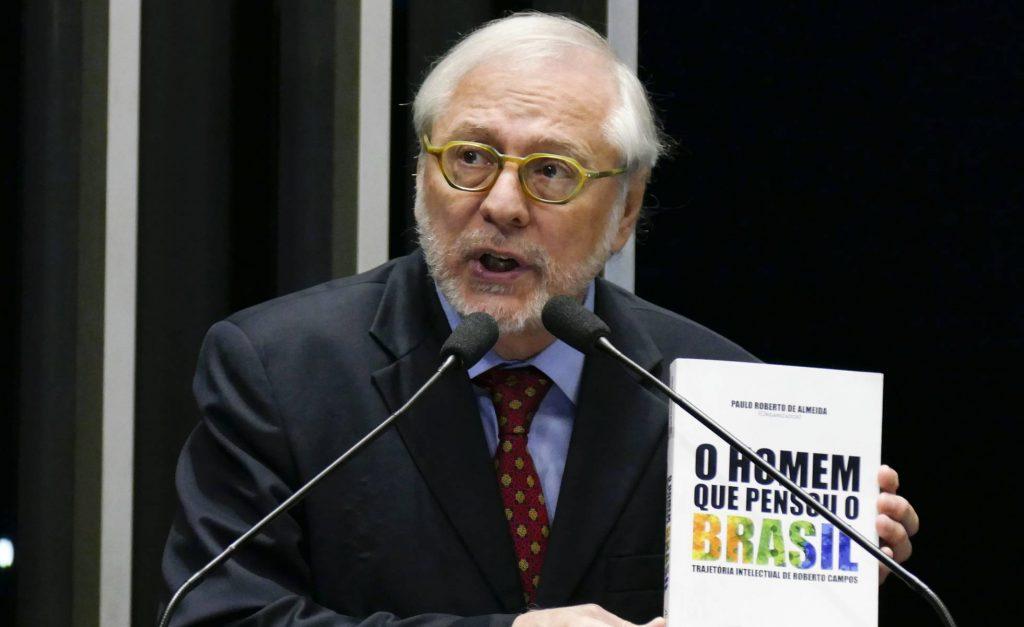 Paulo Roberto de Almeida, no Senado, em abril de 2017. ROQUE DE SÁ - AGÊNCIA SENADO