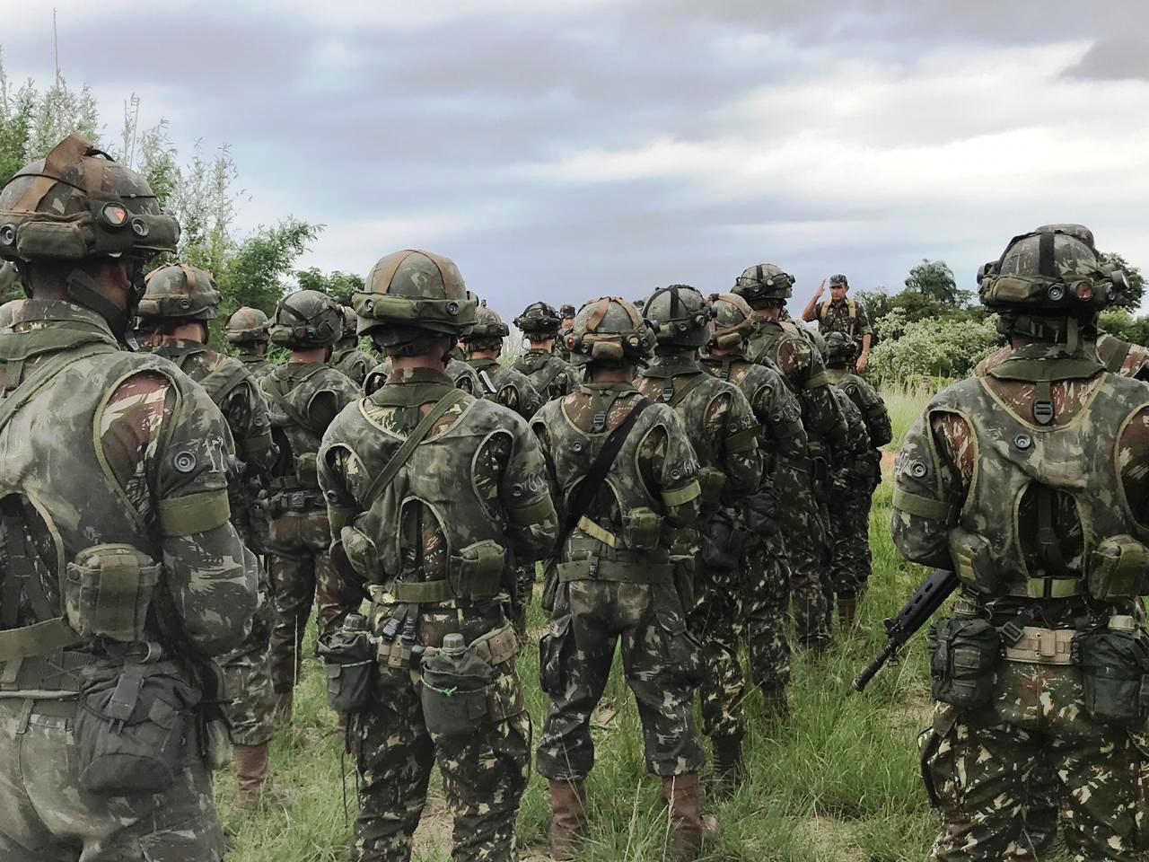 f2bcfe9b72 25º BI Pqdt treina para exercício inédito com o US Army - Forças ...