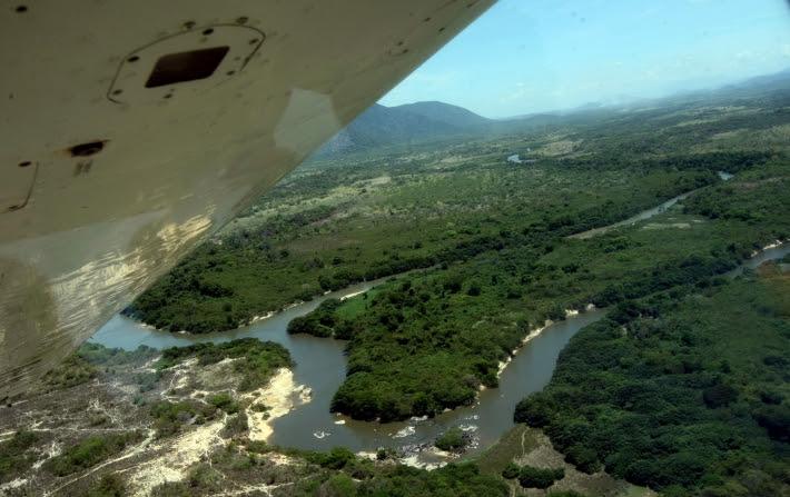 Vista aérea da Raposa Serra do Sol