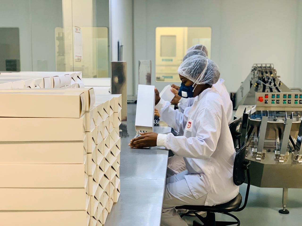 Laboratório Químico Farmacêutico do Exército intensifica a ...